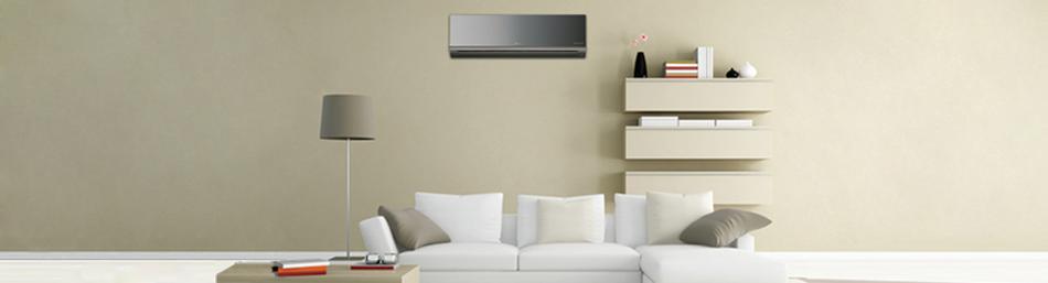 ambiente decorado Ar condicionado para sua casa